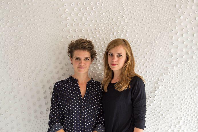Nienke Bongers (l) en Alissa van Asseldonk, samen Studio A+N