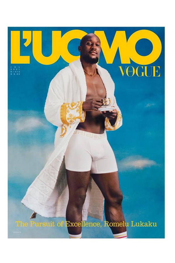 Romelu Lukaku en Une de Vogue