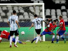 Kansrijk Argentinië komt niet voorbij Chili op Copa América