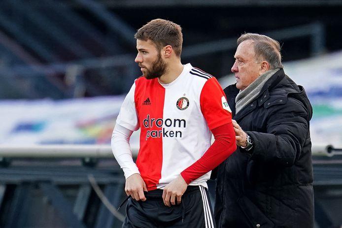 Bart Nieuwkoop maakt zich klaar voor een invalbeurt tegen PSV.