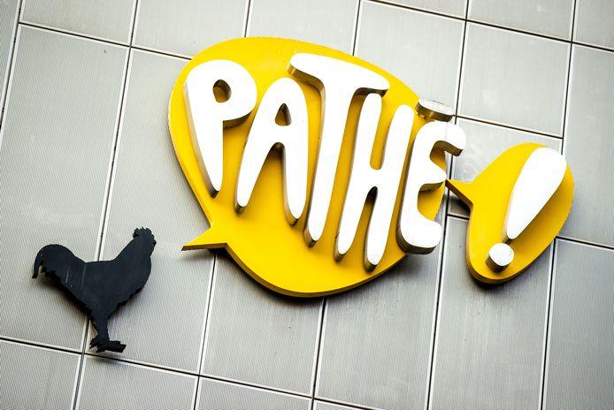 Logo van bioscoopketen Pathé.
