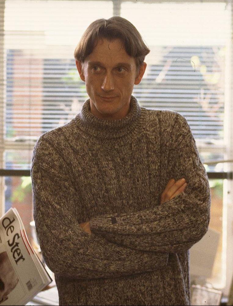 Anne Buurma in 1995 in een aflevering van de tv-serie Coverstory. Beeld anp