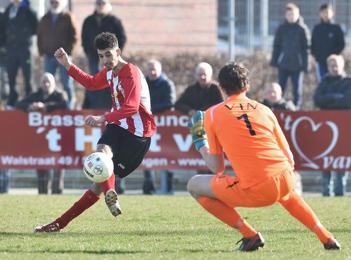 Abdoe Abdenbi speelt komend seizoen ook weer voor VC Vlissingen, maar wel in het derde zaterdagteam.