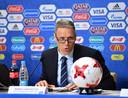 Marco van Basten in 2017, toen nog in dienst van de FIFA