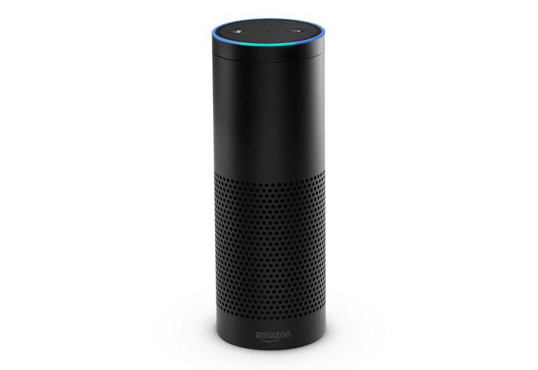 De lelijke, maar slimme praatpaal Amazon Echo. Beeld rv