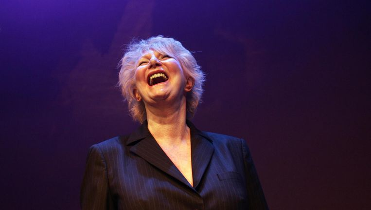 Bloemendaal in 2006, toen ze in de Kleine Komedie de Blijvend Applaus Prijs kreeg. Beeld anp