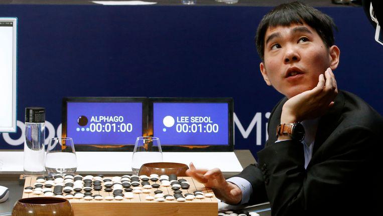 Regerend go-wereldkampioen Lee Se-dol. Beeld AP