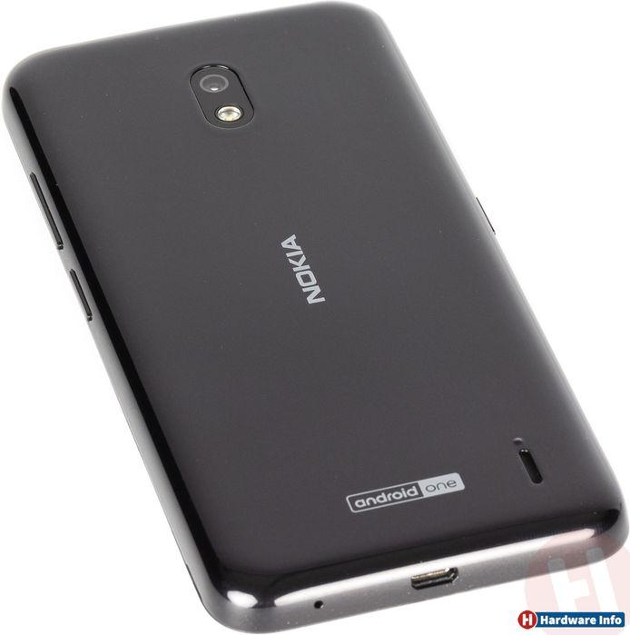De achterzijde van de Nokia 2.2