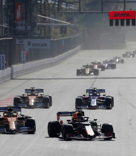 F1 mikt nog steeds op 15 tot 18 races