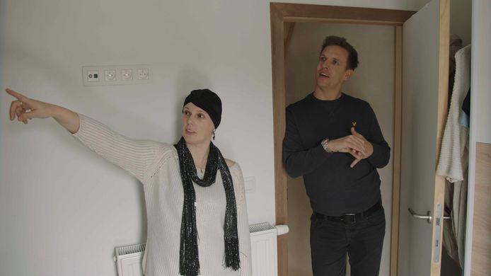 James Cooke en Sylvia in 'Leef!'