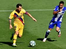 Messi voor zevende keer topscorer La Liga na galashow Barcelona tegen Alavés