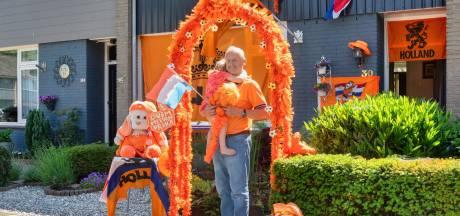 Oranje heerst in de straten van Oosterhout: 'Je moet een feestje van het leven maken'