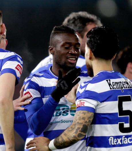 De Graafschap wint ook van MVV en blijft in spoor van Cambuur en Jong Ajax