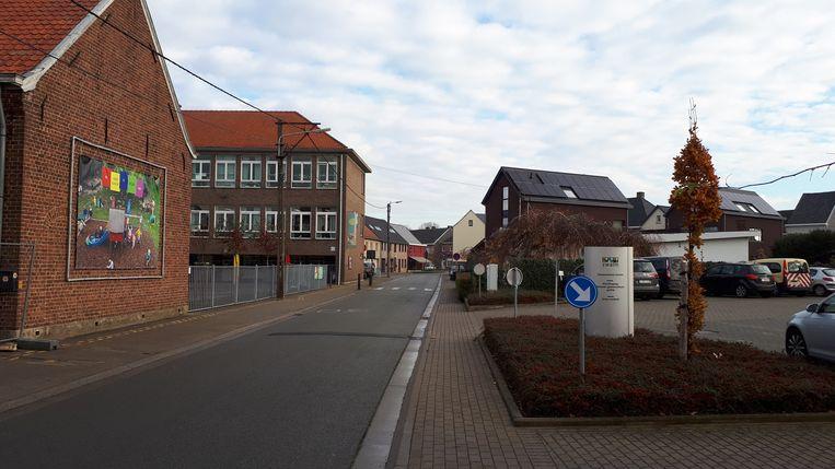 De vrije basisschool in de Decoenestraat ging vrijdag en woensdag in lockdown.