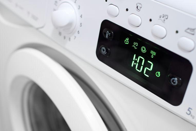 Tijd op de wasmachine Beeld Getty Images/iStockphoto