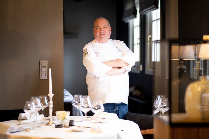 Ferdy Debecker van restaurant Eyckerhof is peter van het Aspergefestival