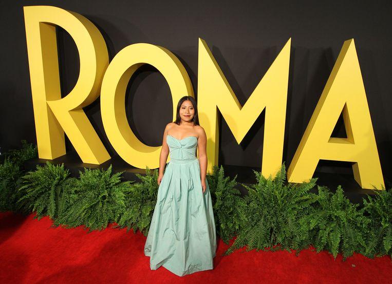 Streamingdienst Netflix heeft al Emmy Awards en Golden Globes gewonnen, maar nu is de dienst voor het eerst genomineerd voor de belangrijkste Oscars. De film 'Roma', die voor Netflix is gemaakt, kan de Oscars voor beste film, beste regisseur en beste actrice winnen. Beeld EPA