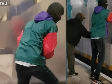 Wie zijn deze graffitispuiters die op station Vathorst een conducteur in zijn gezicht spoten?