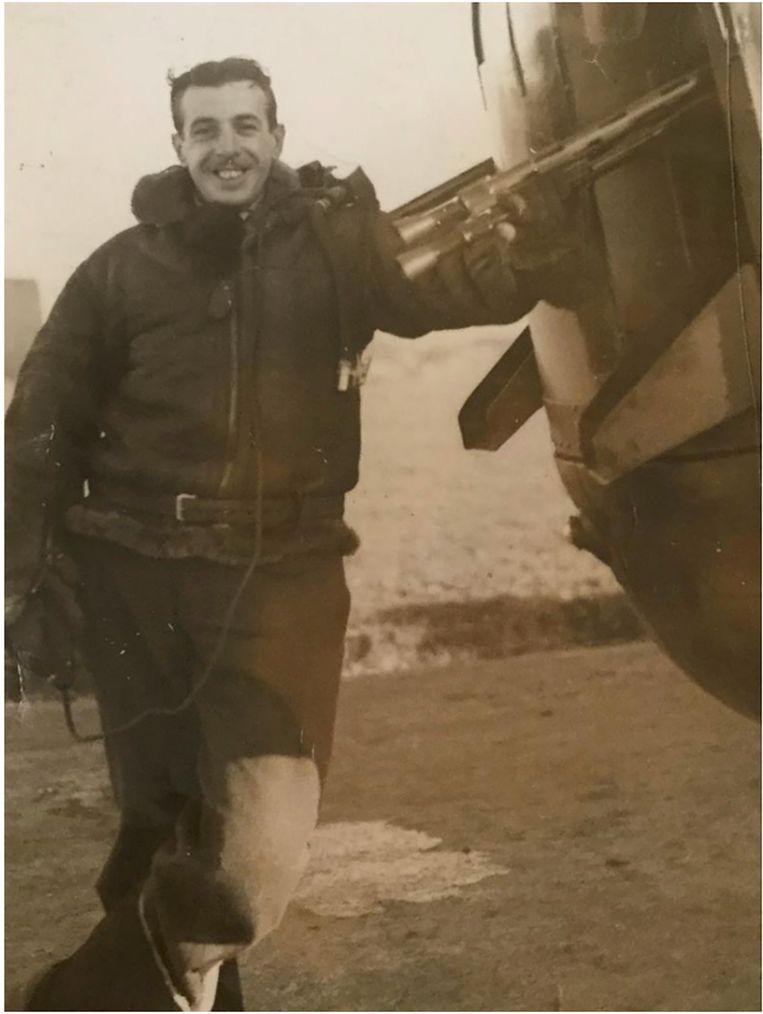 Sergeant Leonard Shrubsall. Beeld