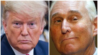 Trump scheldt gevangenisstraf vertrouweling Roger Stone kwijt