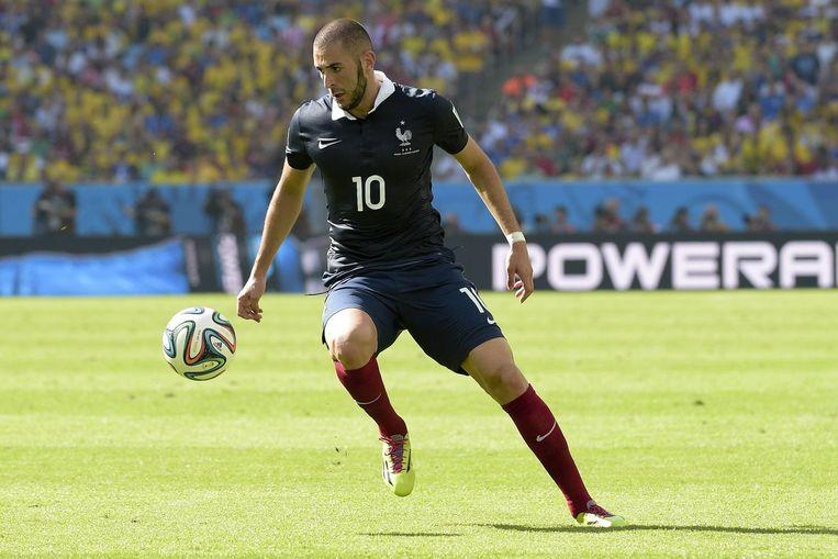Karim Benzema is volgens de FIFA-statistieken de beste speler tot dusver op dit WK Beeld PHOTO_NEWS