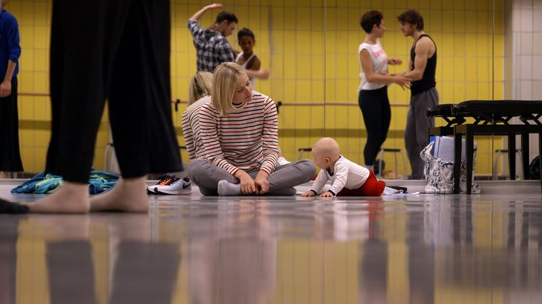 Jonge dansers, 10 jaar later. Beeld NTR