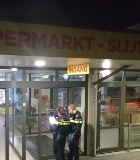Inbrekers slaan voor tweede keer in paar dagen tijd toe bij supermarkt in Spijkenisse