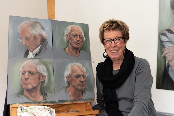 Expositie Van Portretschilder Dita Valkenet Ik Houd Van Grove