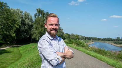 """Natural Highs Festival plaatst windturbine op Netedijk: """"Ons muziekfestival moet zo groen mogelijk worden"""""""