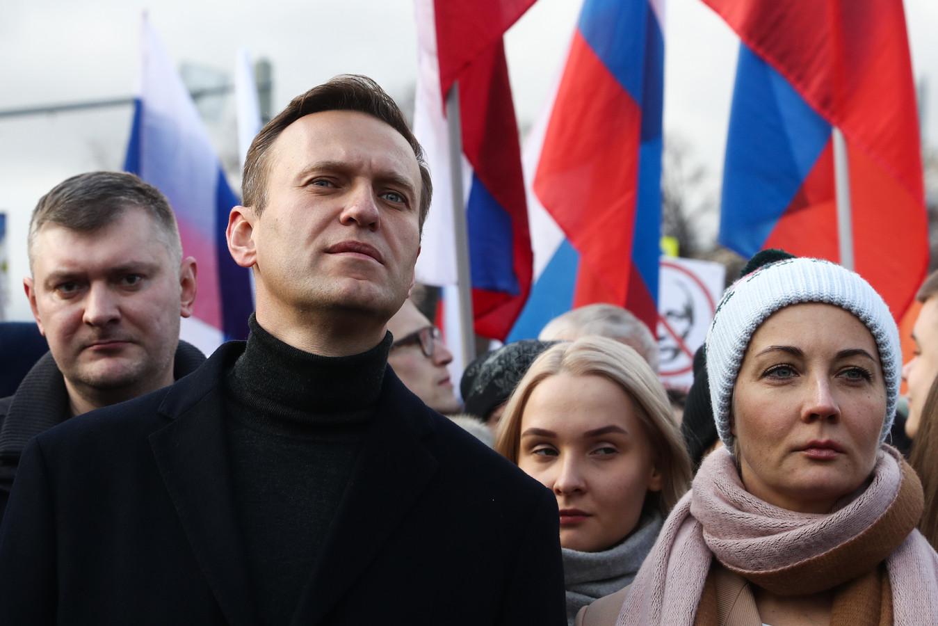 Navalny in februari eerder dit jaar.