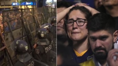"""""""Nu tenminste op juiste continent"""": ongeziene maatregelen bij Argentijnse clash, maar verdriet Boca-fans werd er niet minder op"""