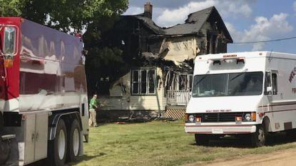 Vier kinderen sterven bij woningbrand in Wisconsin