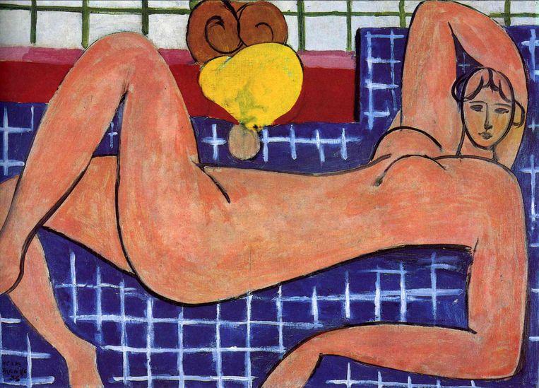 Oog voor detail: 2. Henri Matisse, Pink Nude, 1935 Beeld Baltimore Museum of Art