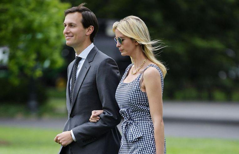 Jared Kushner and Ivanka Trump. Beeld afp