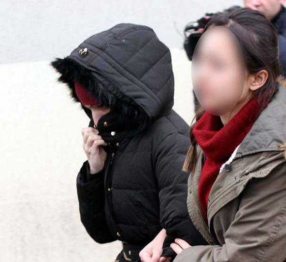Syriëstrijdster Amina Ghezzal, foto's van haar arrestatie in Turkije