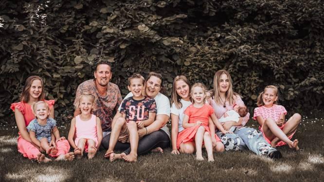 Elfkoppige familie Jelies bereidt zich voor op Televizier Gala: 'We hebben al gewonnen'