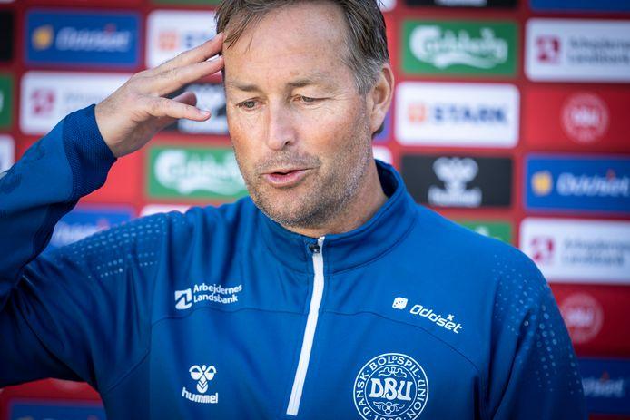 Le sélectionneur danois Kasper Hjulmand