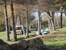 Eenzijdig ongeval Holten, traumahelikopter opgeroepen