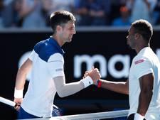 Djokovic kent geen problemen bij eerste test na blessureleed