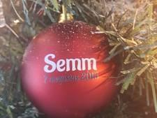 Kerstbal herinnert aan kleinzoon Semm, die slechts 2,5 uur mocht leven