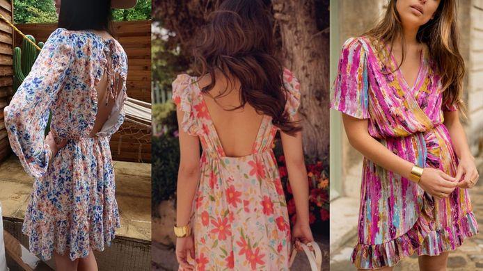 Une robe longue, courte, à dos nu... À vous de choisir!