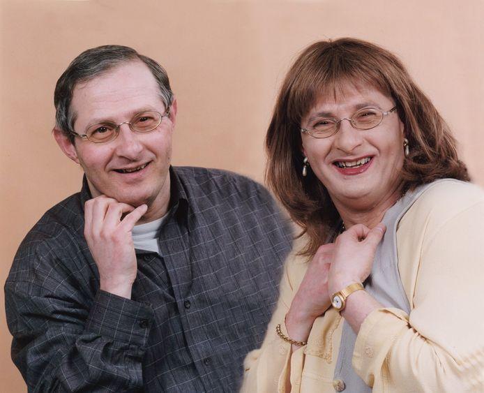 Louis van Bebber ging vanaf 2006 als Angela van Bebber door het leven