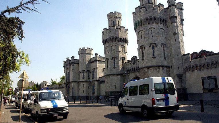 De cipiers van de gevangenis van Sint-Gillis zijn al meer dan twee weken aan het staken. Beeld BELGA