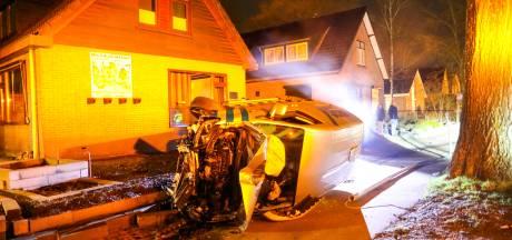 Bizarre binnenkomer: André en zijn gezin wonen amper in Vaassen of er rijdt een auto hun voortuin in