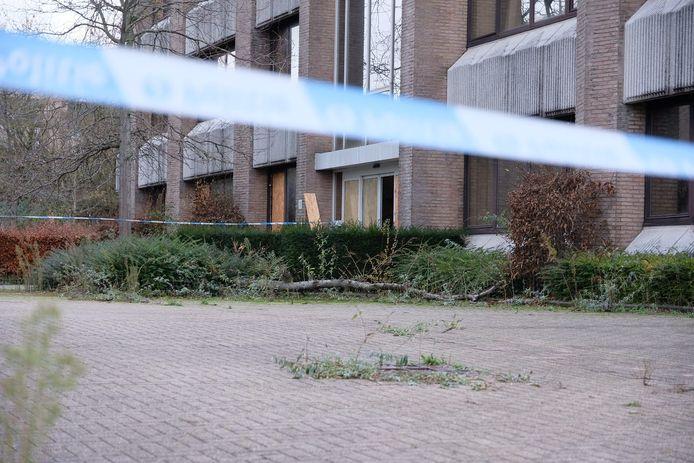 In dit leegstaand pand in de Belgicastraat vond de dodelijke vechtpartij plaats