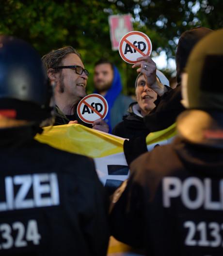 LIVE: Demonstratie na winst AfD bij Duitse verkiezingen
