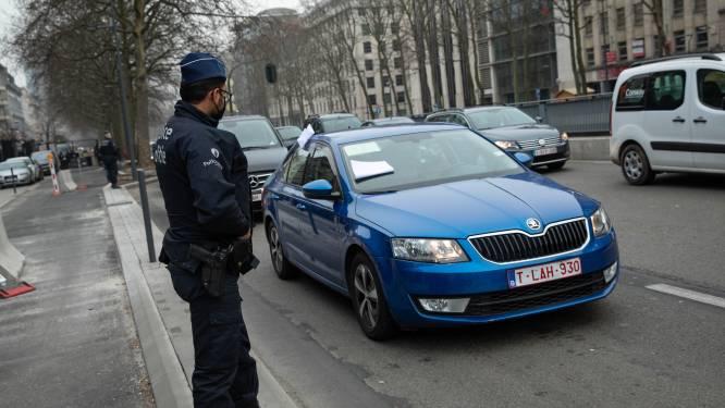 Bestuurders protesteren tegen smartphone-verbod voor taxiritten