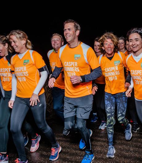 Casper Runners rennen voor kankeronderzoek: Zodat  de lijdensweg van mijn vader anderen bespaard blijft