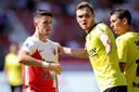 Adrian Dalmau kon ondanks een treffer bij zijn debuut een nederlaag van Utrecht niet voorkomen.