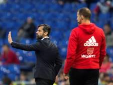 Espanyol stuurt coach Sanchez Flores weg